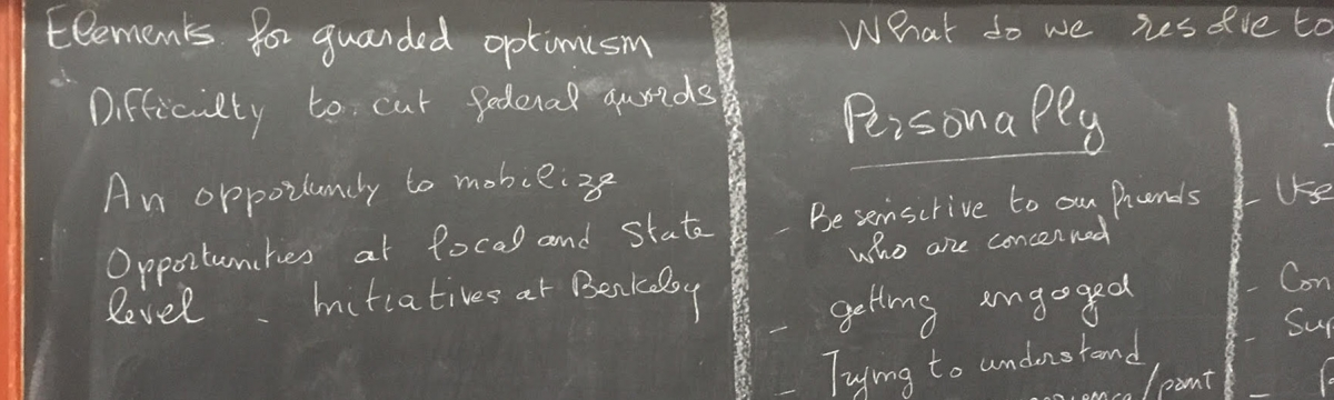 Science as Usual? UC Berkeley Physics Dept forum