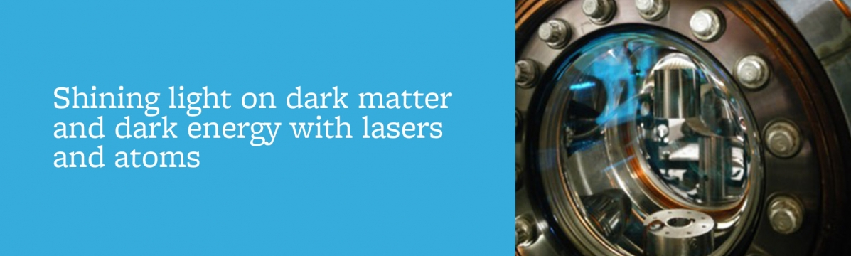 Science@Cal, Holger Müller, Shining light on dark matter and dark energy with lasers and atoms