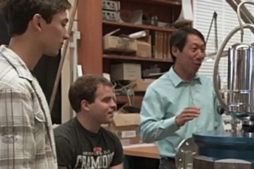 screen shot from UCB Physics Video